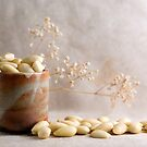 Barrel full of Almonds by SpicieFoodie