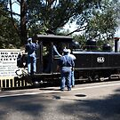 Puffing Billy #11 by Virginia McGowan
