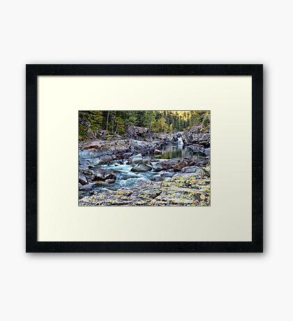 MacDonald Creek 4 Framed Print