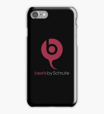Beets By Schrute - The Office US - (Beats By Dr. Dre) iPhone Case/Skin