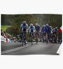 Rohan Dennis, Malcolm Rudolph & Michael Matthews Poster