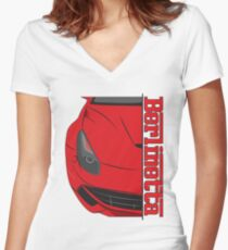 Berlinetta Fitted V-Neck T-Shirt