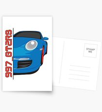 997 Porsche GT2RS  Postcards