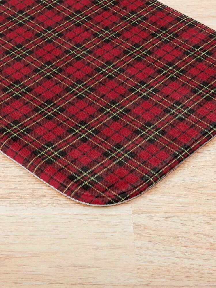 Alternate view of Brodie tartan clan scotland Bath Mat