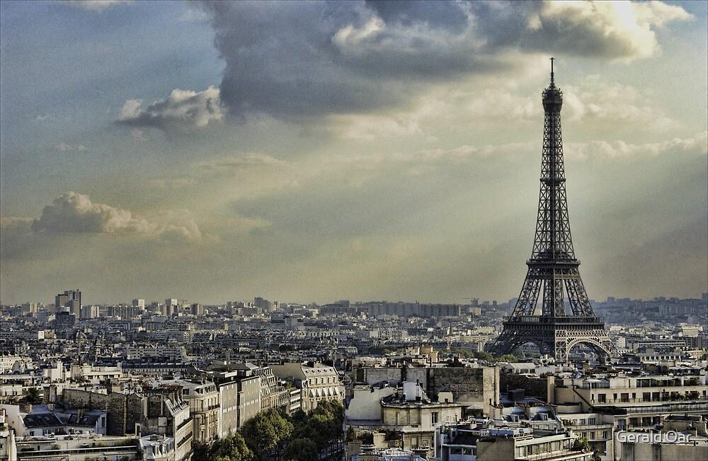 Eiffel Tower - Vanilla Sky by Gerald Oar