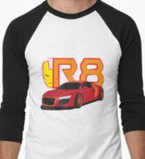 Iron Audi R8 Baseball ¾ Sleeve T-Shirt