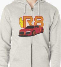 Iron Audi R8 Zipped Hoodie