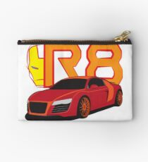 Iron Audi R8 Zipper Pouch