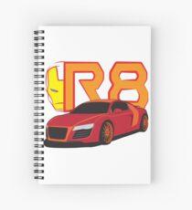 Iron Audi R8 Spiral Notebook