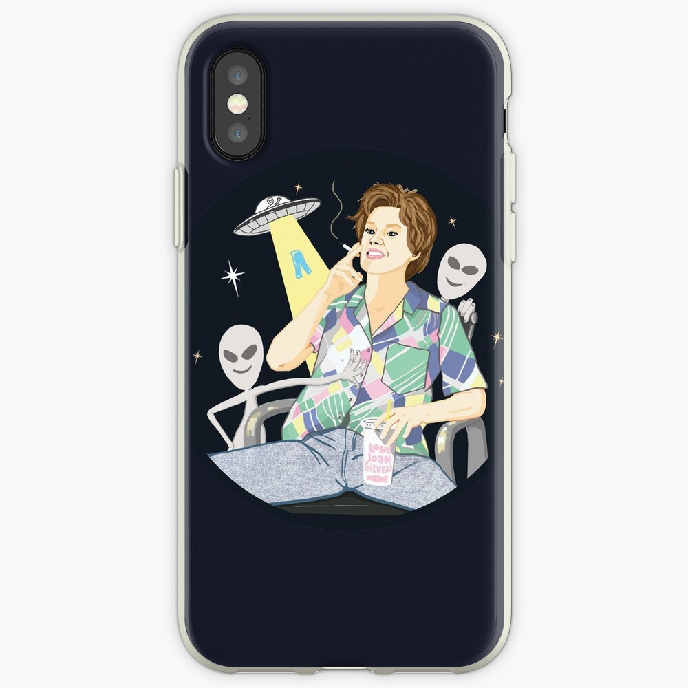 Alien abduction Ms Rafferty iPhone Case & Cover