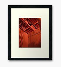 Shower Framed Print