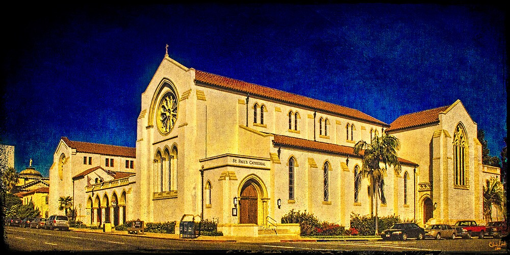 St. Paul's Cathedral, San Diego, CA, USA by Chris Lord
