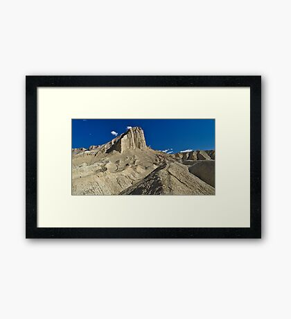 Manly Beacon, Golden Canyon, Death Valley NP Framed Print