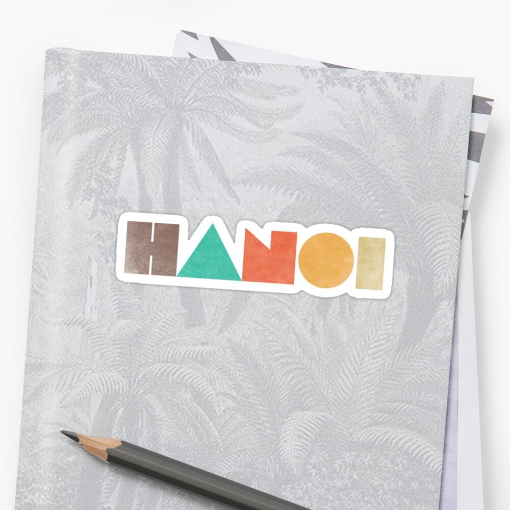 Hanoi Vintage Sticker