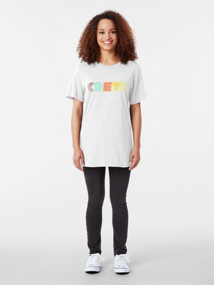 Alternate view of Crete Vintage Slim Fit T-Shirt
