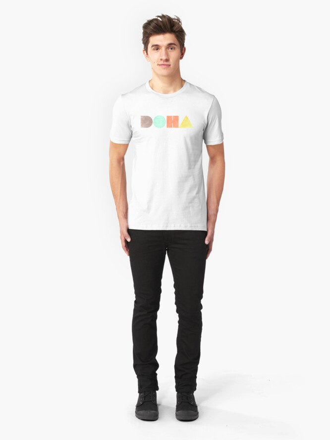 Alternate view of Doha Vintage Slim Fit T-Shirt