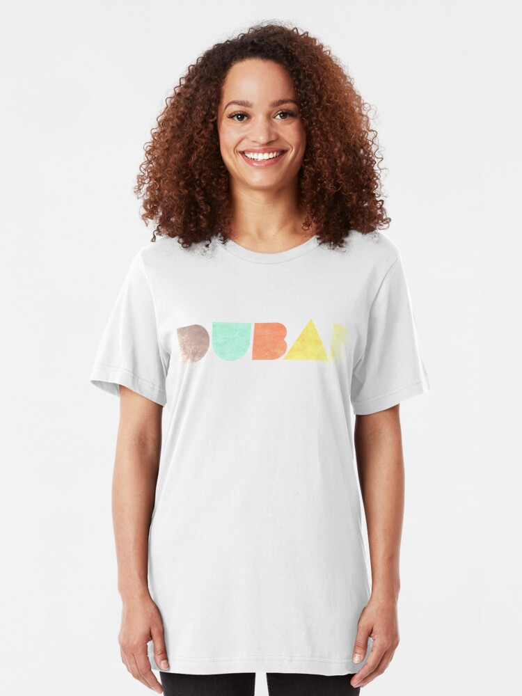 Alternate view of Dubai Vintage Slim Fit T-Shirt