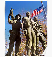 The Three Servicemen Poster