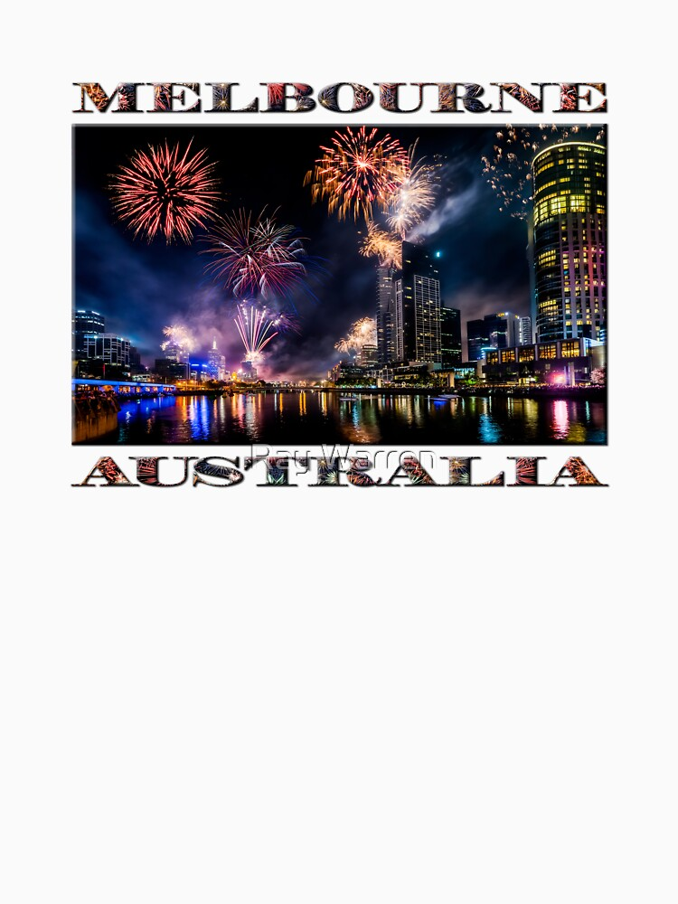 New Year Fireworks, Melbourne Australia by RayW