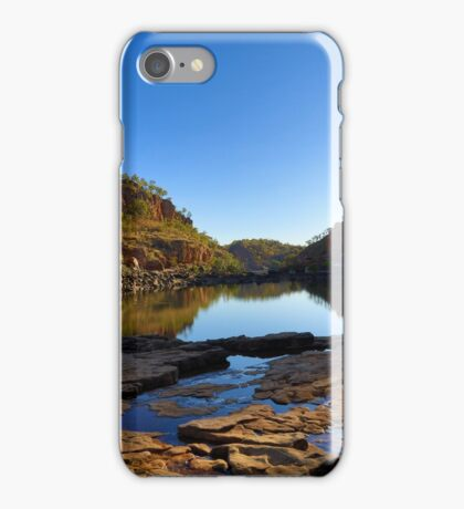 As the light drops in Katherine Gorge.....  iPhone Case/Skin
