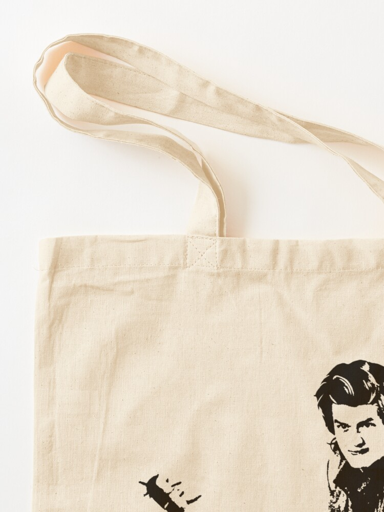 Alternate view of Steve Fighting (Stranger Things) Tote Bag