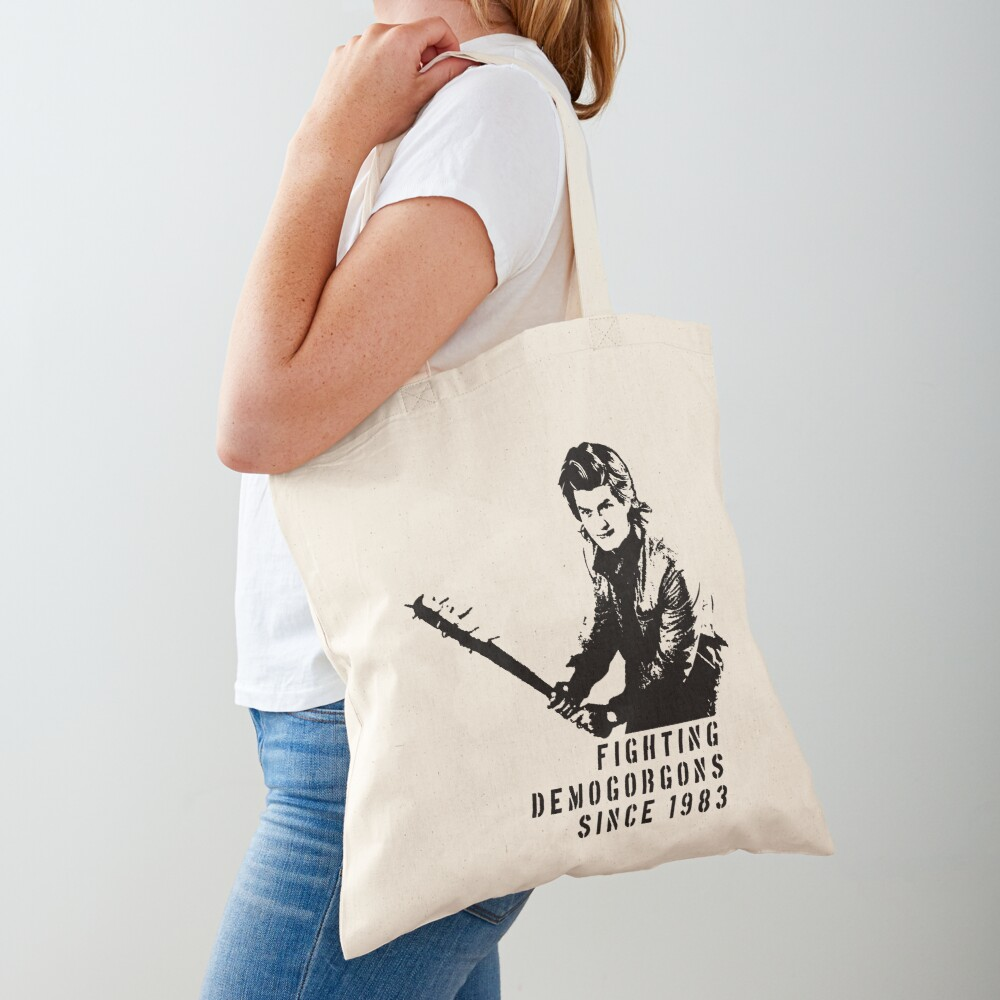 Steve Fighting (Stranger Things) Tote Bag