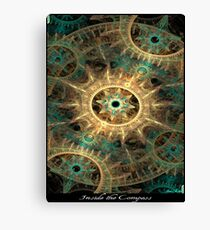 Inside the Compass Canvas Print