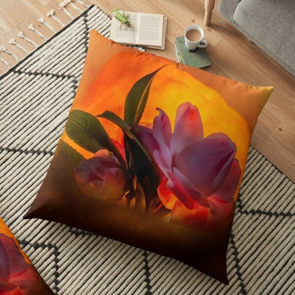Camelia 0598 Floor Pillow