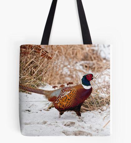 Ringed Neck Pheasant Tote Bag