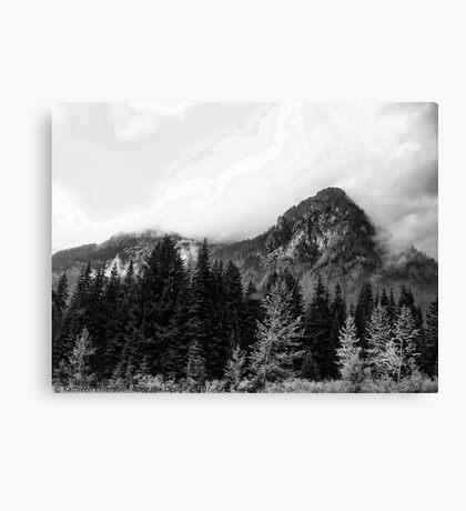 Crossing Snoqualmie Pass Canvas Print