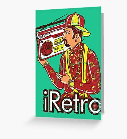 I Retro Greeting Card