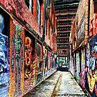 Melbourne Street Art - Downtown Alley by Okavanga