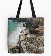 Steps, Blairgowrie Back Beach Tote Bag