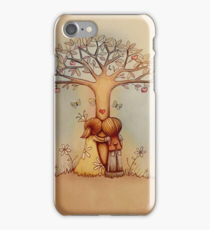 underneath the apple tree iPhone Case/Skin