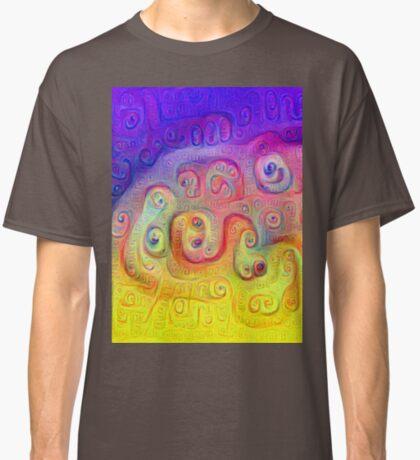 DeepDream Violet to Yellow 5K Classic T-Shirt