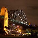 Sydney Harbour Bridge 2 by Bernie Stronner