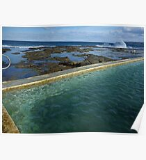 Merewether Baths Calling Poster