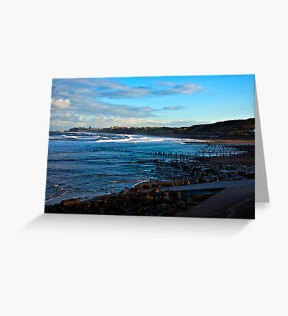 Across Sandsend Wyke Greeting Card