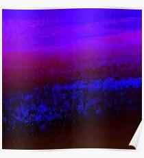 Digital Water Patterns 10 Poster