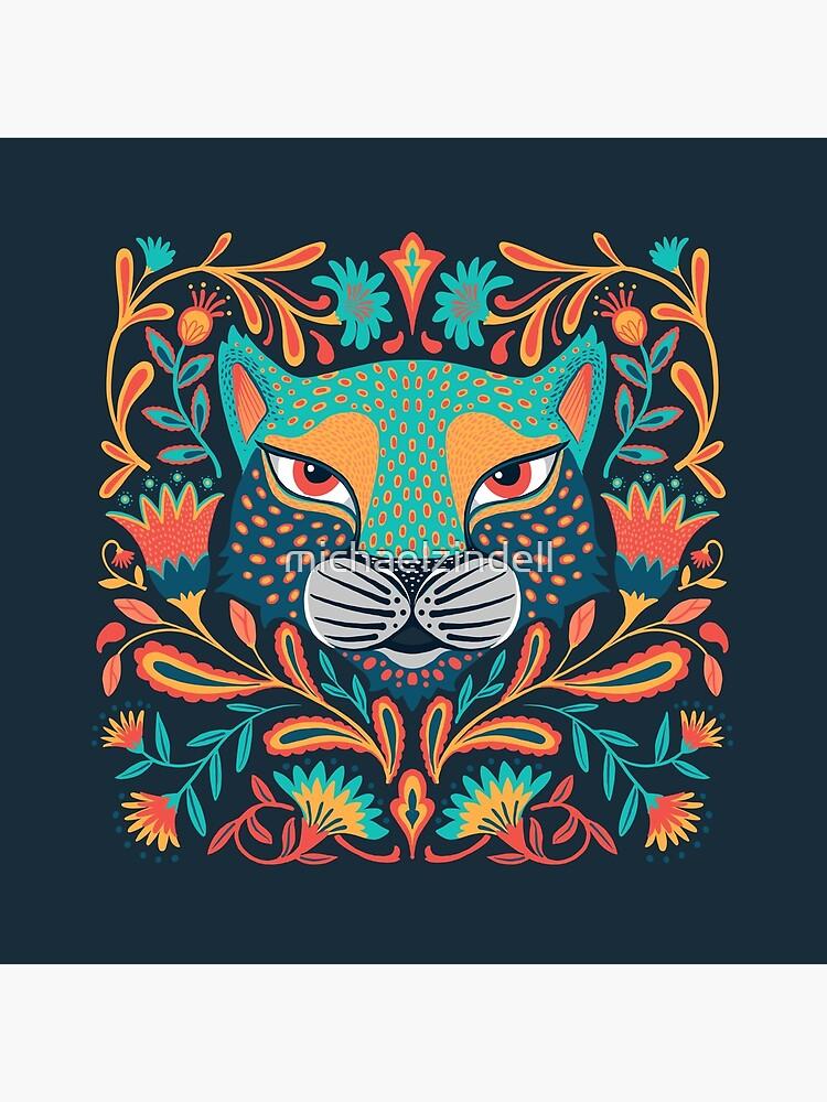 Folk jaguar by michaelzindell