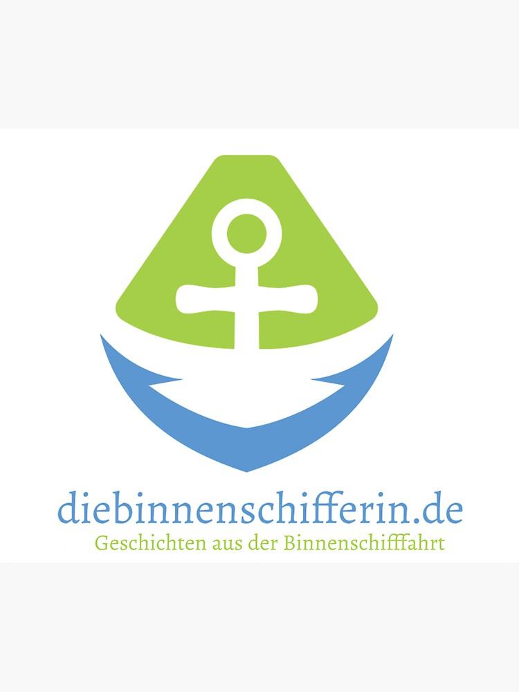 Logo für Binnenschiffer-Blog von BinneSchifferin