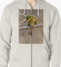 Little Bee Eater Zipped Hoodie