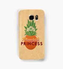 Pineapple Princess Samsung Galaxy Case/Skin