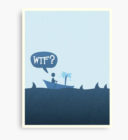 Sharks! Canvas Print