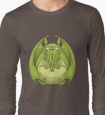 Totoro Cthulhu Long Sleeve T-Shirt