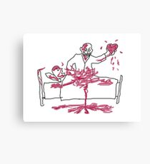 Giles' Doodle from Hush [Buffy the Vampire Slayer] Canvas Print