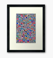 Postage Due Framed Print