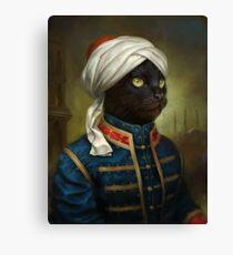 The Hermitage Court Moor Cat  Canvas Print