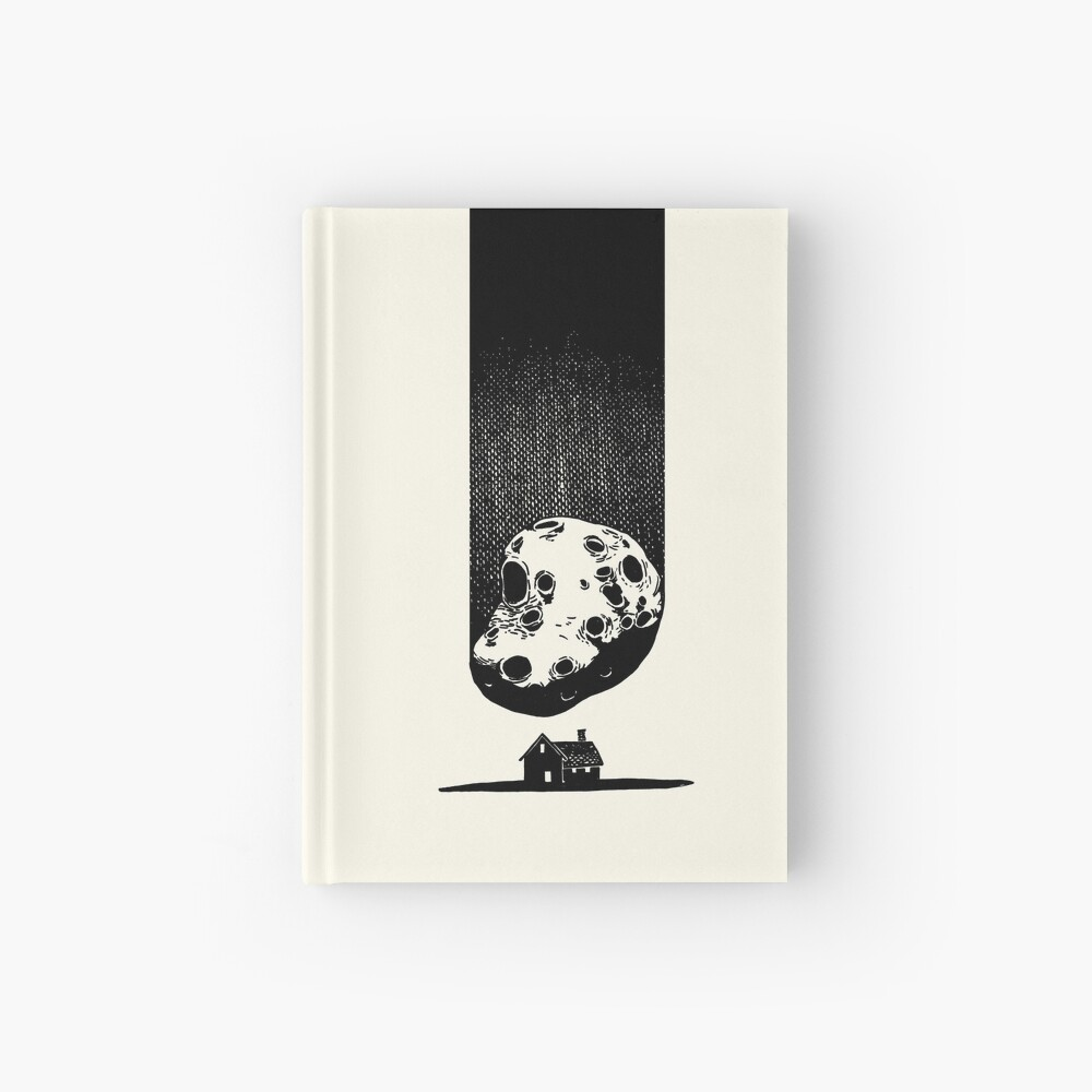 Trouble at Home Hardcover Journal