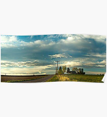 Great Plains Farmland Poster
